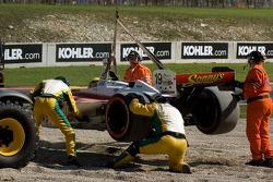 Juan Caceres off track