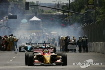 Sbastien Bourdais leaves the grid