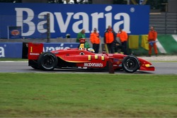 Entering the chicane, Sébastien Bourdais