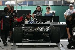 Minardi Team USA car at tech inspection