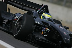 Zsolt Baumgartner driving the Minardi Team USA Panoz DP01