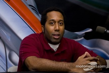 ESPN Director of Motorsports Frantz Cayo