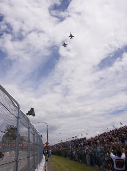 F18 Fly-over