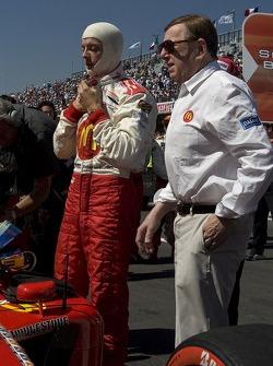 Sébastien Bourdais gets ready for his last Champ Car race with Carl Haas