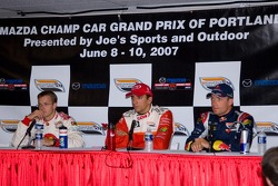 Top-three drivers in Friday Qualifying
