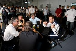 Peugeot Sport media event: Alexander Wurz