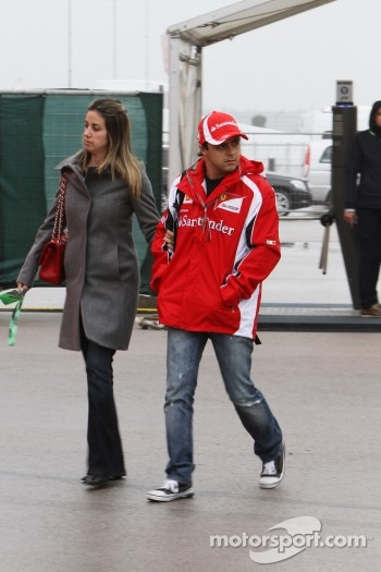 Rafaela Bassi, Wife of Felipe Massa and Felipe Massa, Scuderia Ferrari