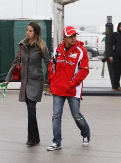 Rafaela Bassi, Wife of Felipe Massa and Felipe Massa, Scuderia Ferrari