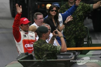 Drivers parade: Justin Wilson