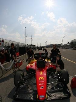 Newman/Haas/Lanigan Racing car of Sébastien Bourdais