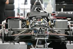Minardi Team USA car of Dan Clarke