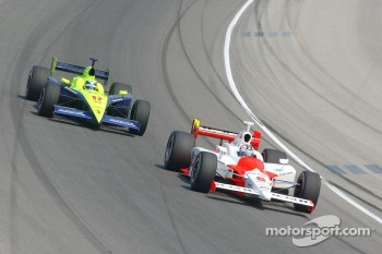 Sam Hornish Jr. and Vitor Meira