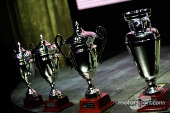 GP2 launch party, Billionaire Istanbul: trophies
