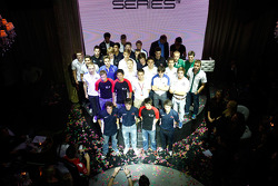 GP2 launch party, Billionaire Istanbul: GP3 drivers up on stage