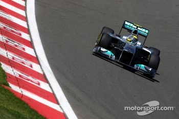 Nico Rosberg, Mercedes GP F1 Team, MGP W02