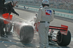 Pitstop for A.J. Foyt IV