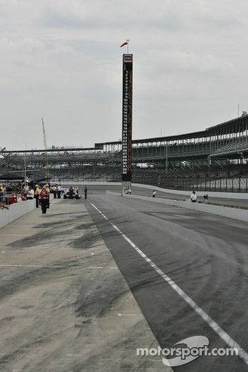 Pitlane at Indy