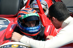 Indy Experience two-seater: Tony Kanaan takes a guest around the track