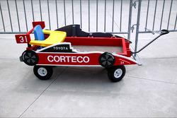A customized children's wagon