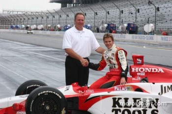 Brian Barnhart and Dan Wheldon