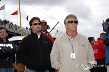 Michael and Mario Andretti