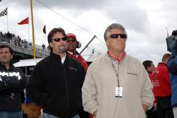 Michael and Mario Andretti