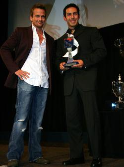 Infiniti Pro Series second place finisher Jeff Simmons