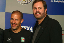 Tony Kanaan press conference