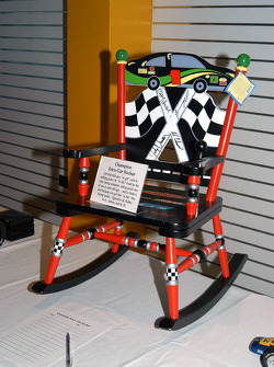 Rocking chair available in silent auction