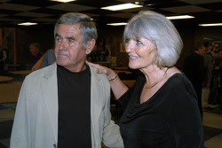 Al and Susan Unser after a very long week