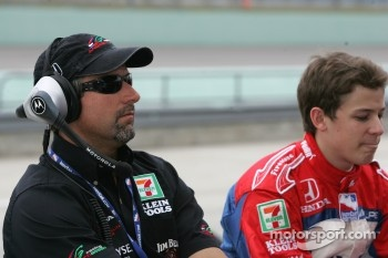 Michael Andretti and Marco Andretti