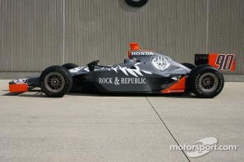 The #90 Vision Racing car that will be driven by Townsend Bell