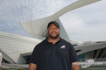 Gilbert Brown of the Milwaukee Mile