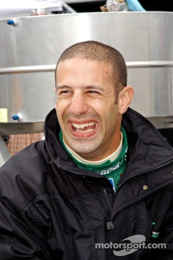 Tony Kanaan always laughing