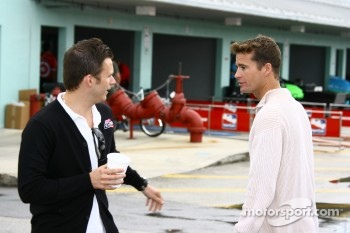 Dan Wheldon and Alex Barron