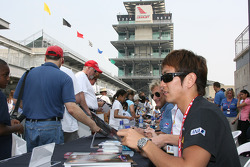 Indy Pro Series driver Hideki Mutoh