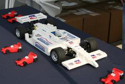 A lego Indy Car