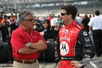 Mario Andretti and Michael Andretti