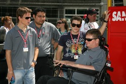 Alex Lloyd and Sam Schmidt