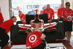 Chip Ganassi Racing car at tech inspection