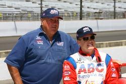 Al Unser Jr. with A.J. Foyt