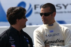Michael Andretti and Dario Franchitti