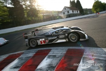 #1 Audi Sport Team Joest Audi R18 TDI: Timo Bernhard, Romain Dumas, Mike Rockenfeller