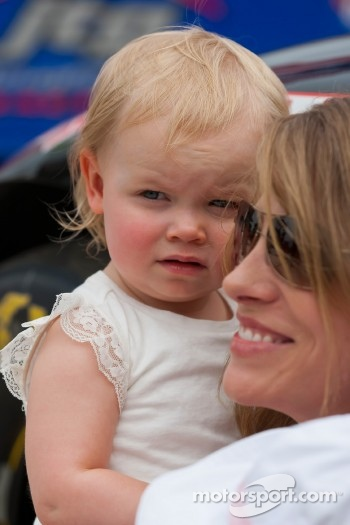 Katie Kenseth with her daughter