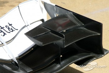 Team Williams F1, Technical detail, front wing