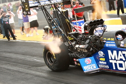 Antron Brown about two feet after launch