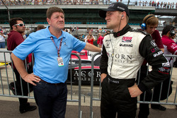 James Jakes, Dale Coyne Racing with his dad