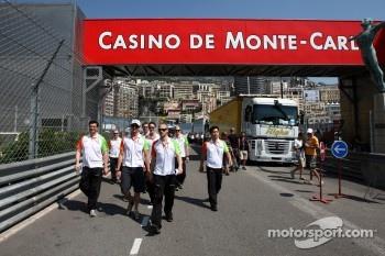 Traditional Monaco Track Walk