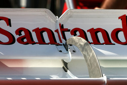 Scuderia Ferrari Technical detail rear wing