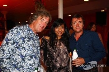 Top Gear's James May and Peter Hammond